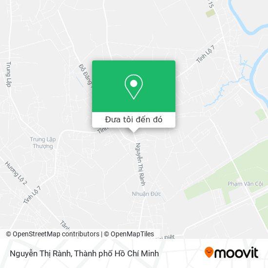 Bản đồ Nguyễn Thị Rành
