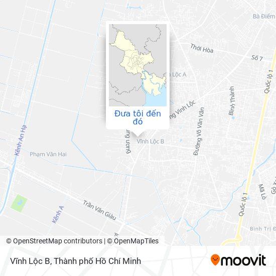 Bản đồ Vĩnh Lộc B