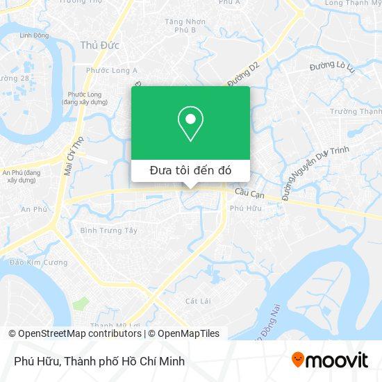Bản đồ Phú Hữu