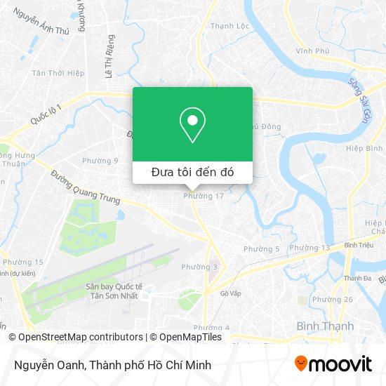 Bản đồ Nguyễn Oanh