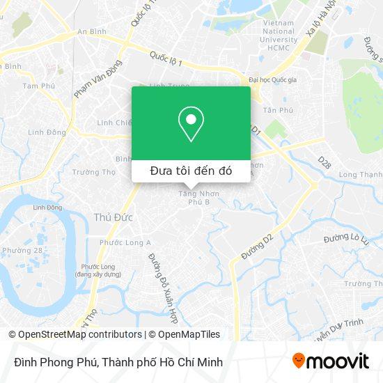 Bản đồ Đình Phong Phú