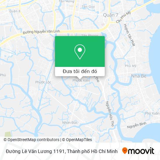 Bản đồ Đường Lê Văn Lương 1191