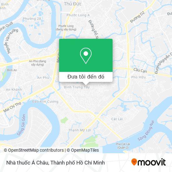 Bản đồ Nhà thuốc Á Châu
