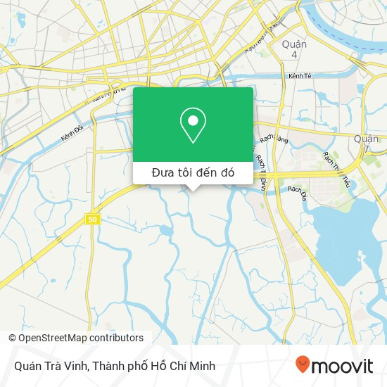 Bản đồ Quán Trà Vinh, ĐƯỜNG Phạm Hùng Huyện Bình Chánh, Thành Phố Hồ Chí Minh