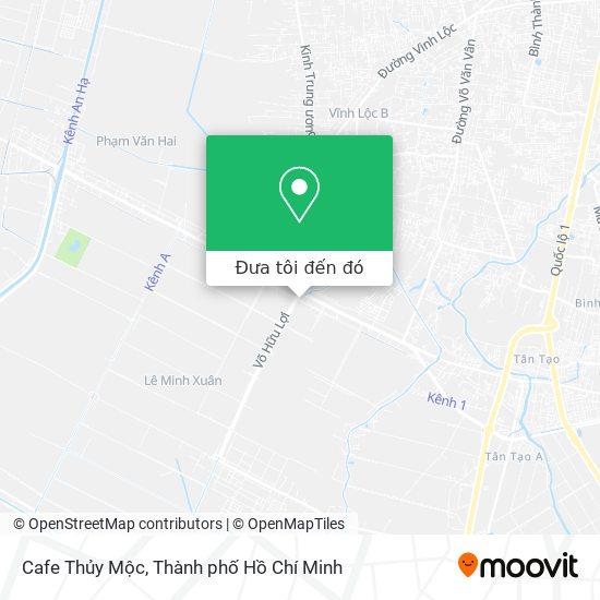 Bản đồ Cafe Thủy Mộc