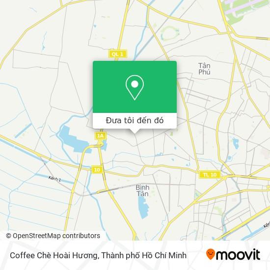 Bản đồ Coffee Chè Hoài Hương