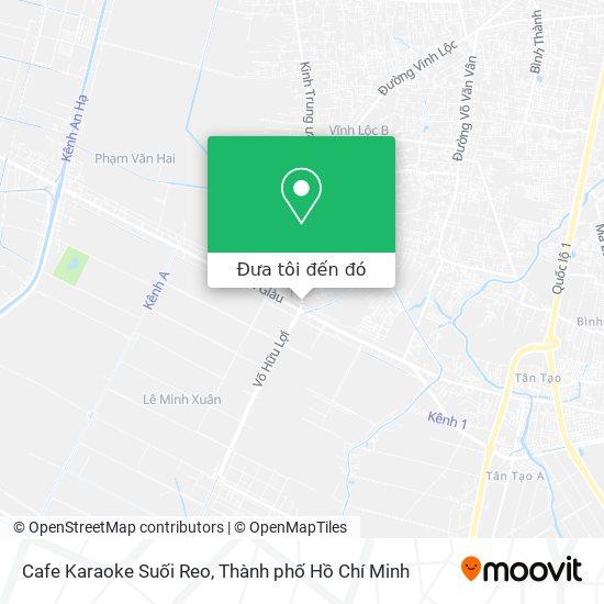 Bản đồ Cafe Karaoke Suối Reo
