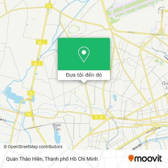 Bản đồ Quán Thảo Hiền