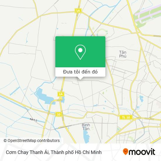 Bản đồ Cơm Chay Thanh Ái