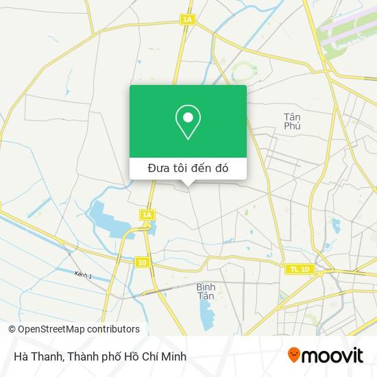 Bản đồ Hà Thanh