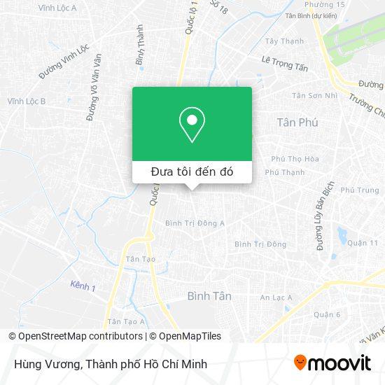 Bản đồ Hùng Vương
