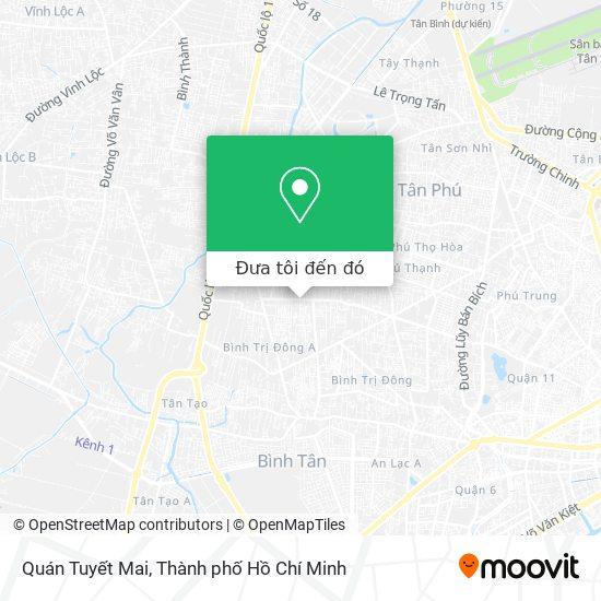 Bản đồ Quán Tuyết Mai