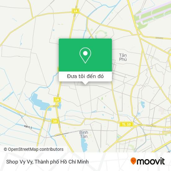 Bản đồ Shop Vy Vy