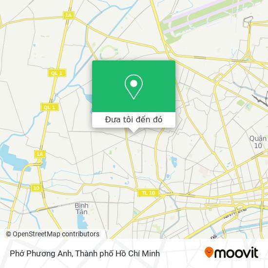 Bản đồ Phở Phương Anh