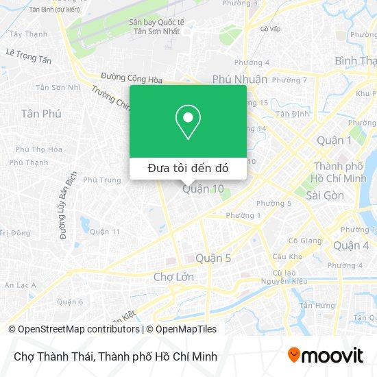 Bản đồ Chợ Thành Thái