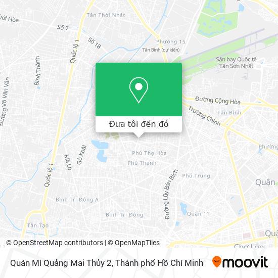 Bản đồ Quán Mì Quảng Mai Thủy 2