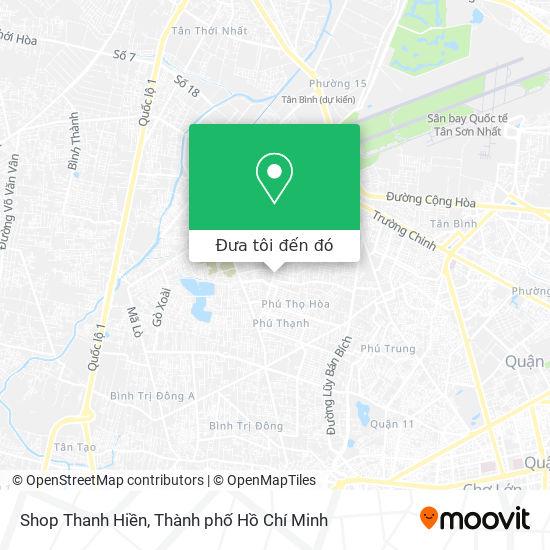 Bản đồ Shop Thanh Hiền