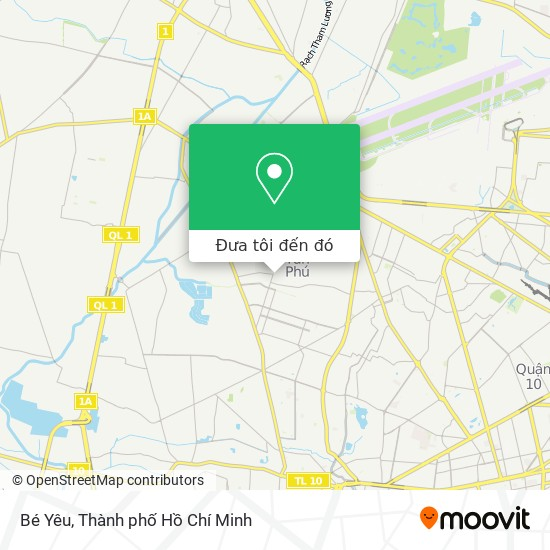 Bản đồ Bé Yêu