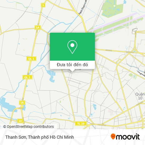 Bản đồ Thanh Sơn