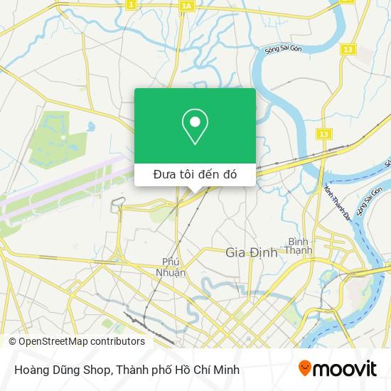 Bản đồ Hoàng Dũng Shop