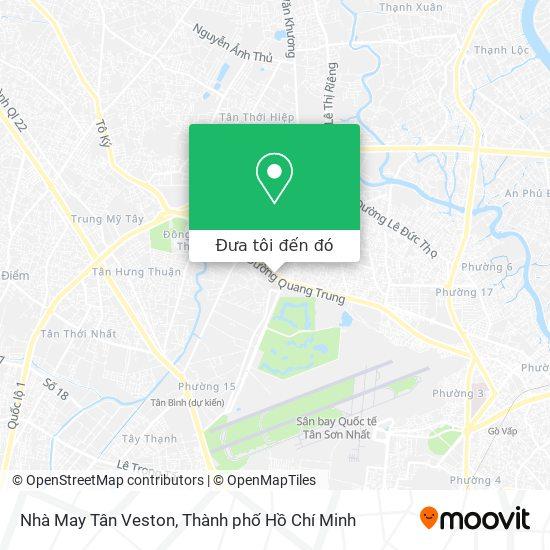 Bản đồ Nhà May Tân Veston