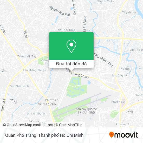 Bản đồ Quán Phở Trang