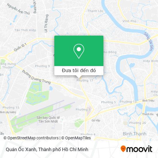 Bản đồ Quán Ốc Xanh