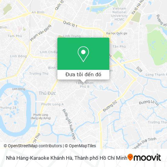 Bản đồ Nhà Hàng-Karaoke Khánh Hà
