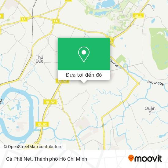 Bản đồ Cà Phê Net