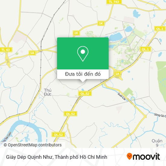 Bản đồ Giày Dép Quỳnh Như