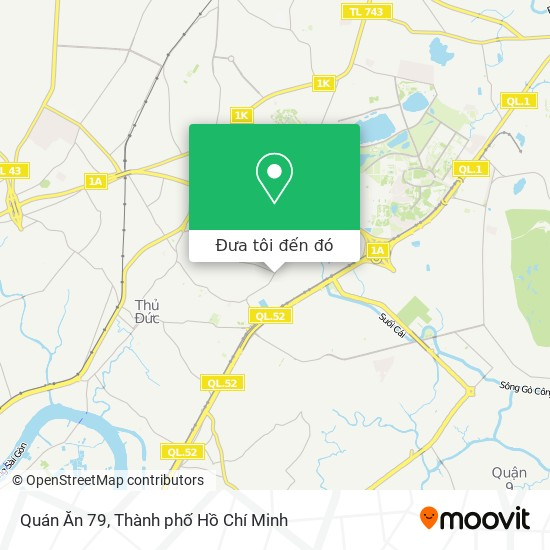Bản đồ Quán Ăn 79