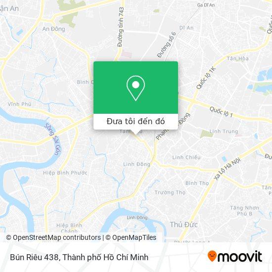 Bản đồ Bún Riêu 438