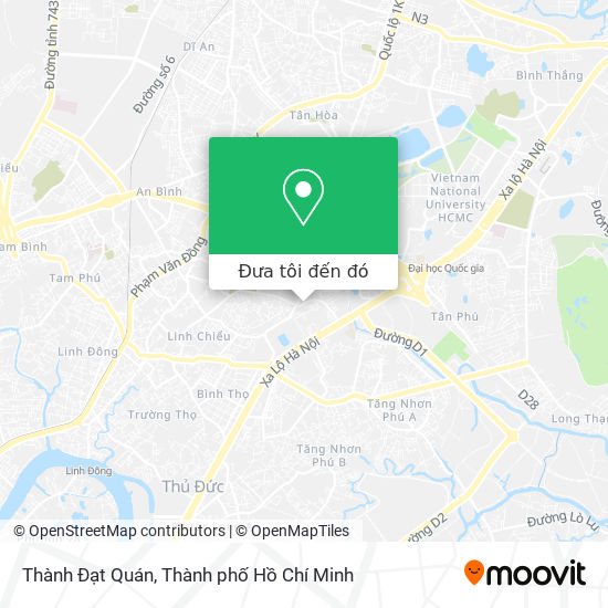 Bản đồ Thành Đạt Quán