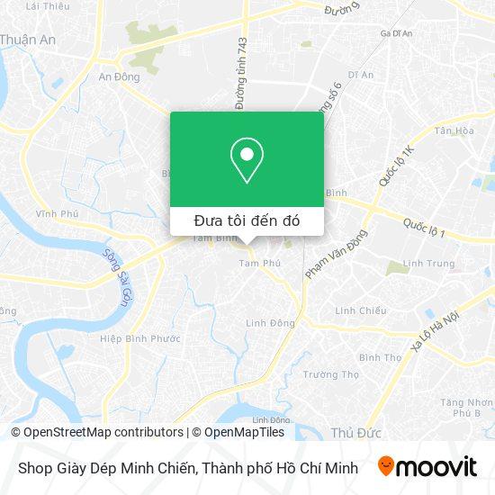 Bản đồ Shop Giày Dép Minh Chiến