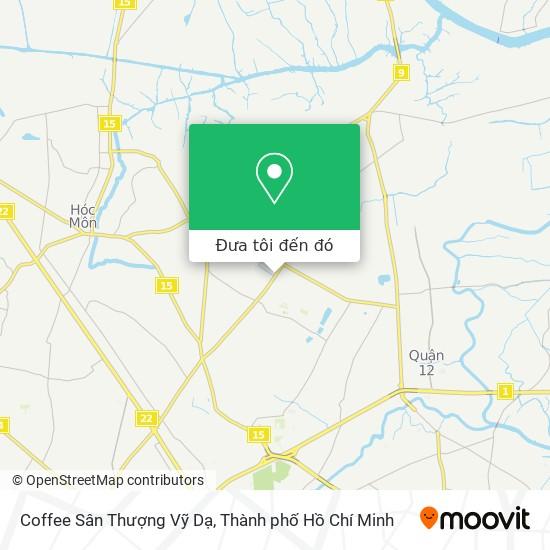 Bản đồ Coffee Sân Thượng Vỹ Dạ