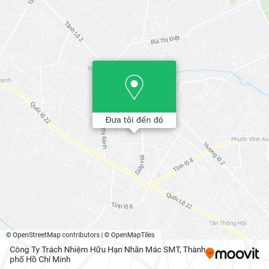 Bản đồ Công Ty Trách Nhiệm Hữu Hạn Nhãn Mác SMT