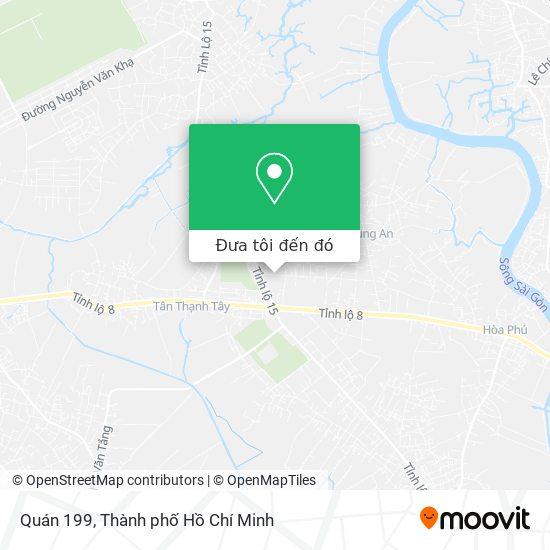 Bản đồ Quán 199