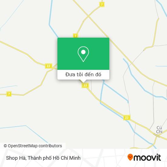 Bản đồ Shop Hà