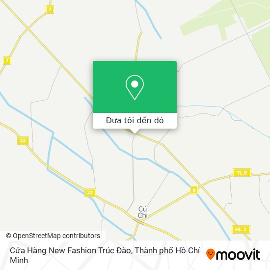 Bản đồ Cửa Hàng New Fashion Trúc Đào