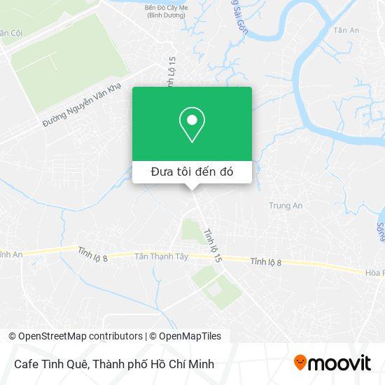 Bản đồ Cafe Tình Quê