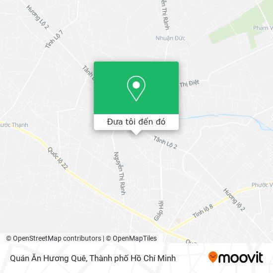 Bản đồ Quán Ăn Hương Quê