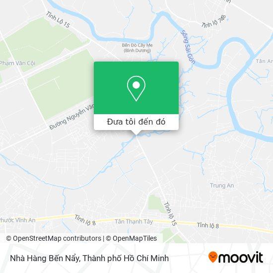 Bản đồ Nhà Hàng Bến Nẩy