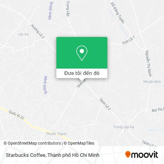 Bản đồ Starbucks Coffee