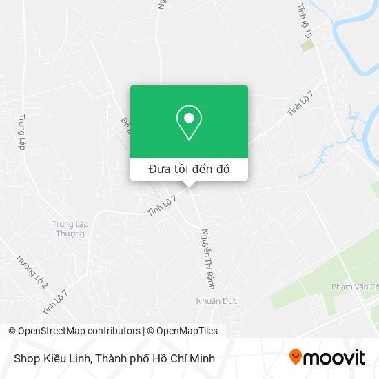 Bản đồ Shop Kiều Linh
