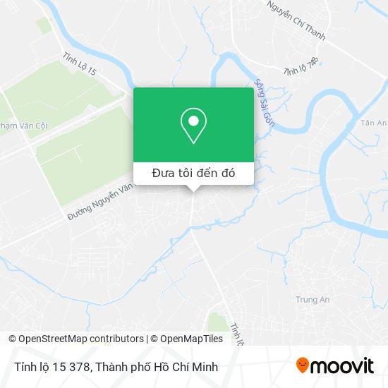 Bản đồ Tỉnh lộ 15 378