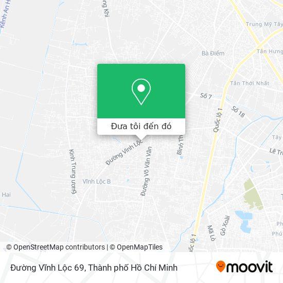 Bản đồ Đường Vĩnh Lộc 69