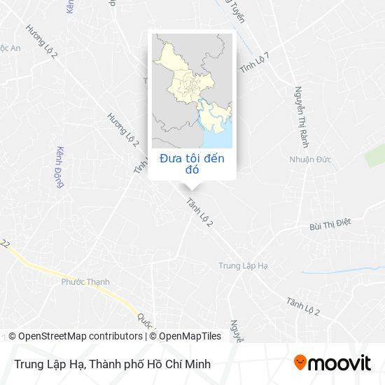 Bản đồ Trung Lập Hạ