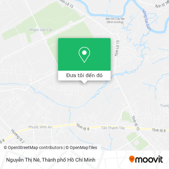 Bản đồ Nguyễn Thị Nê