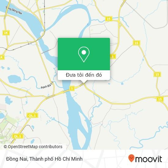Bản đồ Đồng Nai