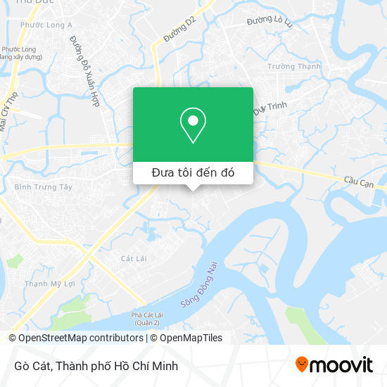 Bản đồ Gò Cát